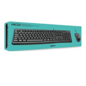 Logitech MK120 keyboard and mouse combo